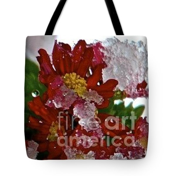 Beauty Under Ice Tote Bag