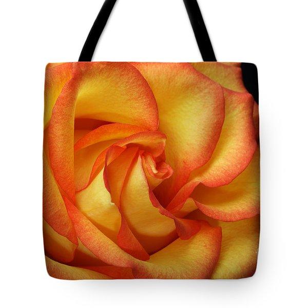 Beauty Unfolds Tote Bag