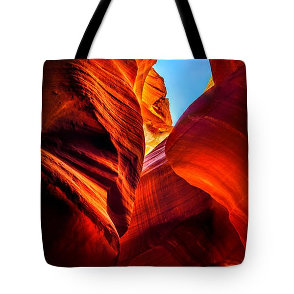 Beauty Within Tote Bag by Az Jackson