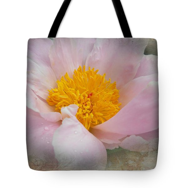 Beauty Woven In Tote Bag