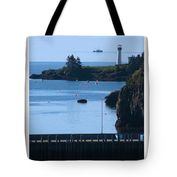 Beaver Harbour Nb Canada Tote Bag