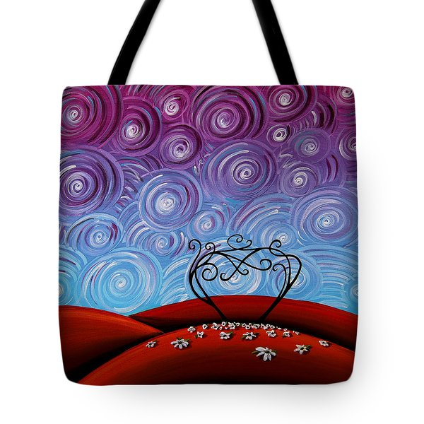 Because You're Mine Tote Bag by Cindy Thornton