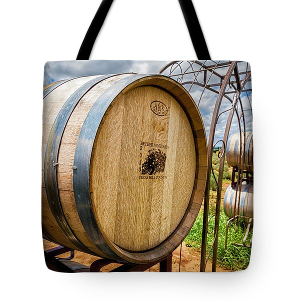 Becker Vineyards Tote Bag by Tim Stanley