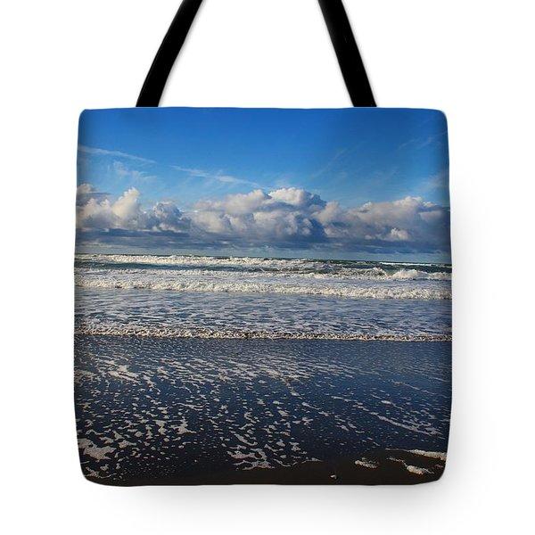 Beckoning Sea Tote Bag