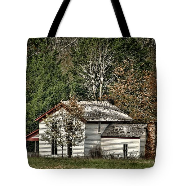 Becky Cable House Tote Bag