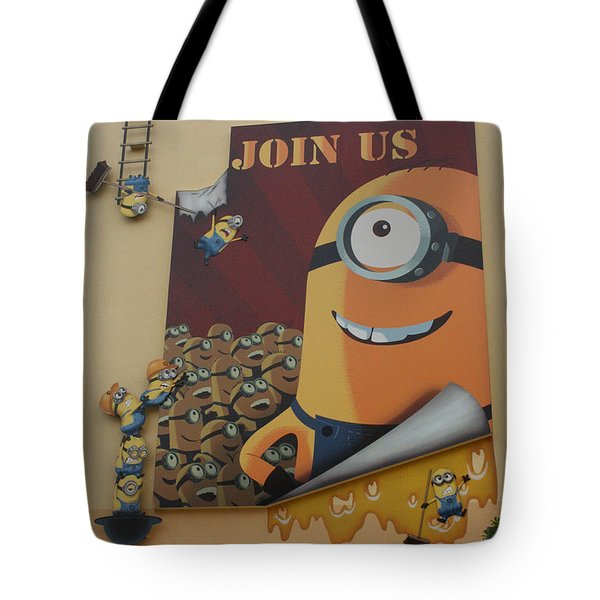 Become A Minion Tote Bag