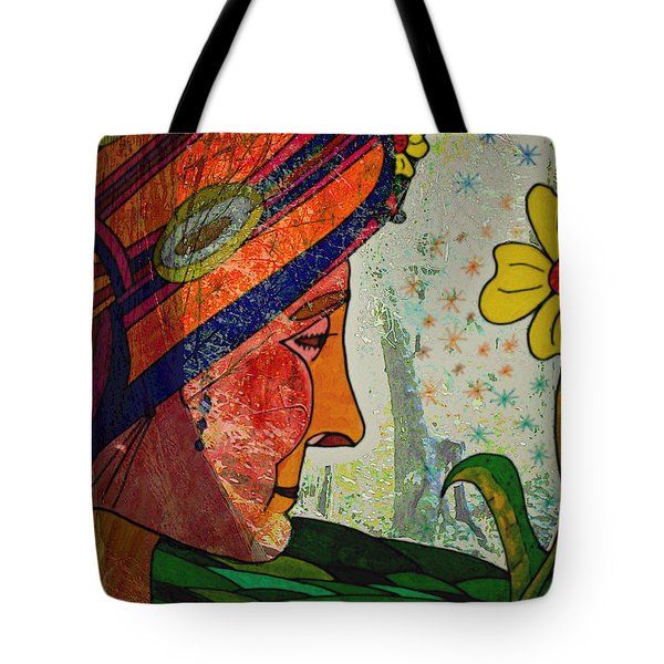 Becoming The Garden - Garden Appreciation Tote Bag