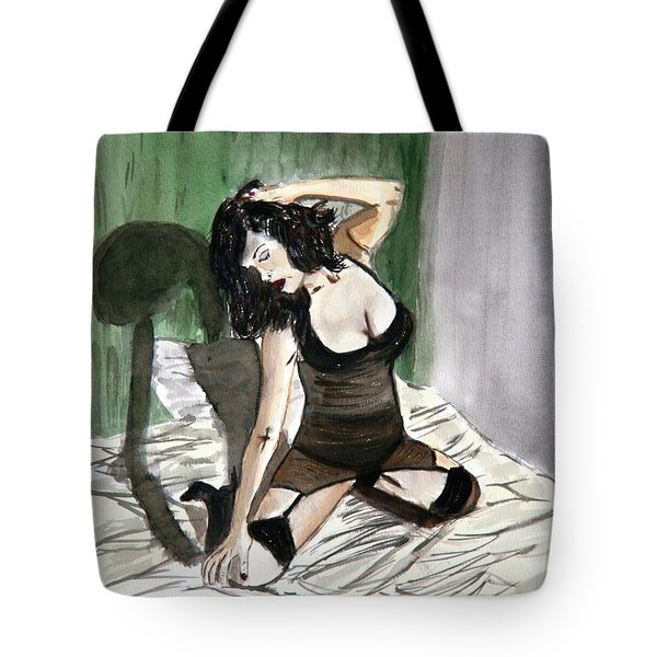 Bed Passion. Tote Bag
