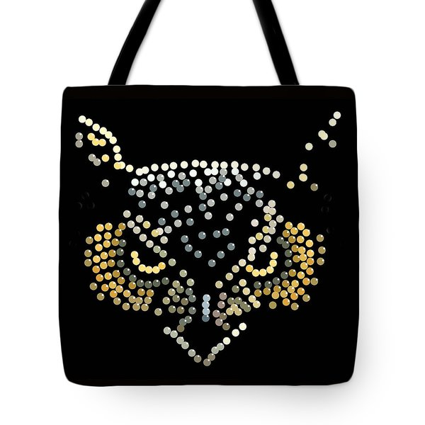 Bedazzled Owl Tote Bag