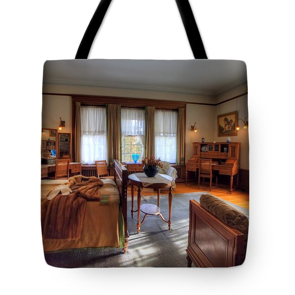 Bedroom Glensheen Mansion Duluth Tote Bag