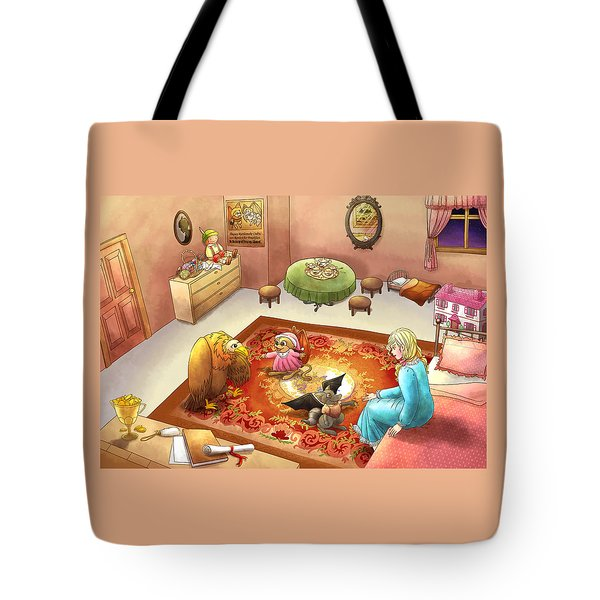 Bedtime For Tammy Tote Bag