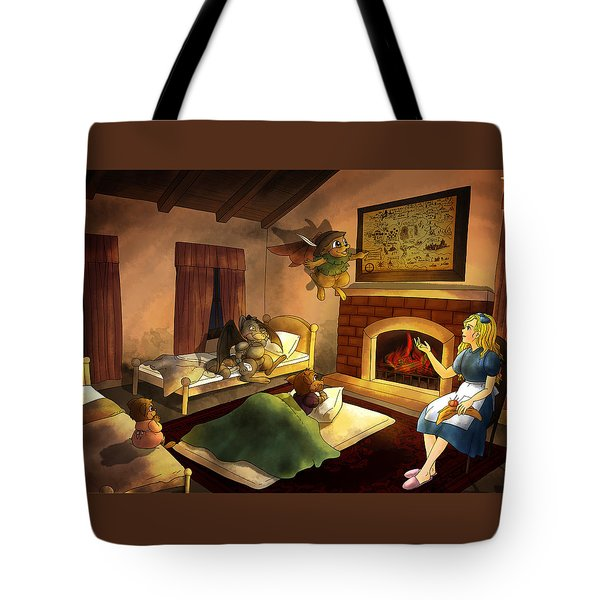 Bedtime Tote Bag