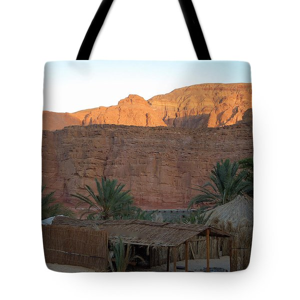 Beduin Camp In The Sinai Desert Egypt Tote Bag by Colette V Hera  Guggenheim