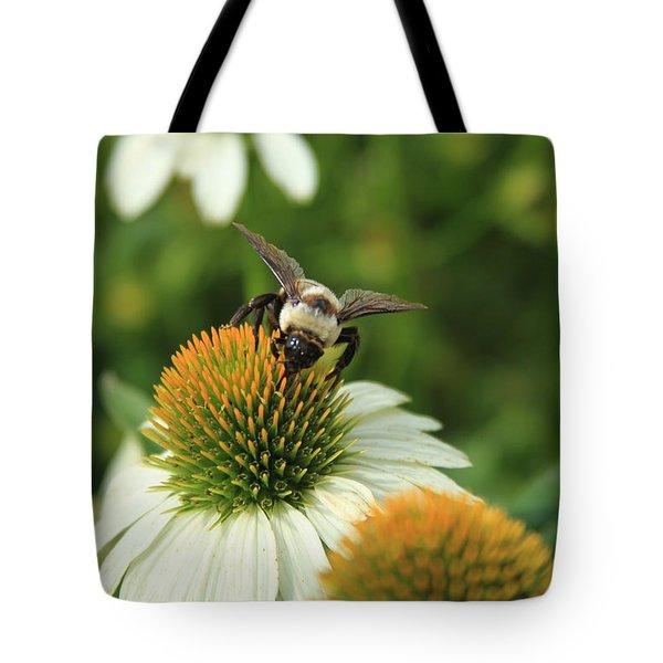 Bee 7 Tote Bag by Reid Callaway