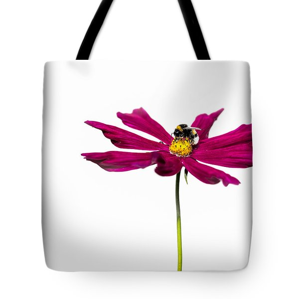 Bee At Work - Featured 3 Tote Bag by Alexander Senin