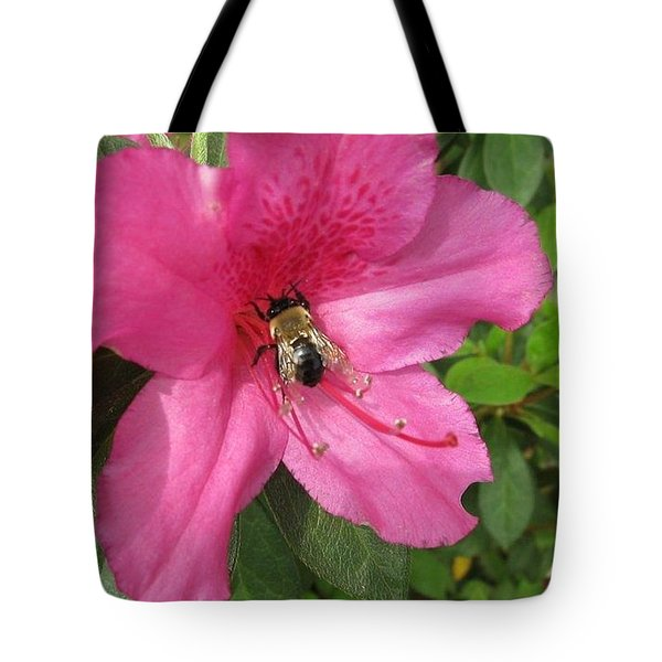 Bee Cause Tote Bag by Deborah Lacoste