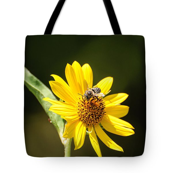 Bee Flower Tote Bag