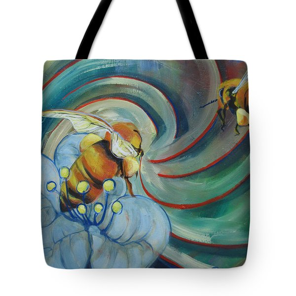 Bee Friends Tote Bag