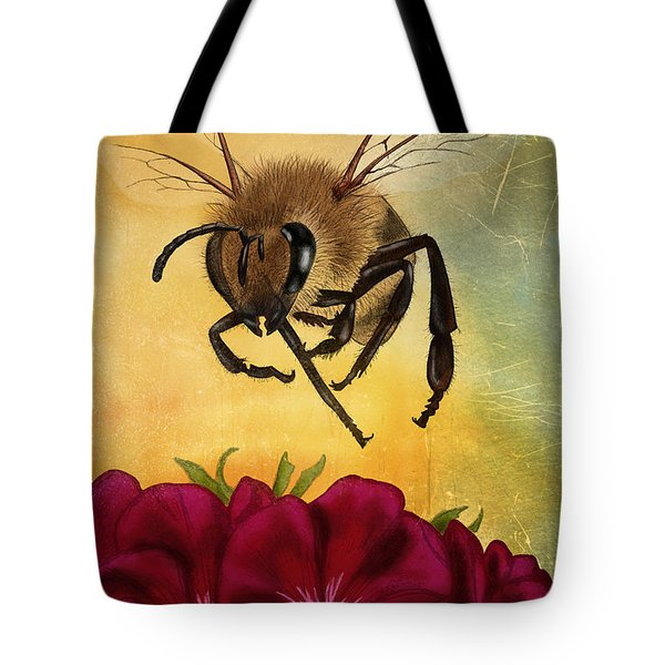 Bee I Tote Bag
