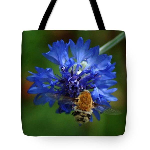Tote Bag featuring the photograph Bee by Leticia Latocki