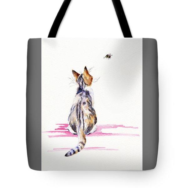 Bee-mused Tote Bag