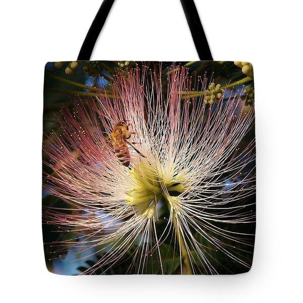 Bee Patient Tote Bag