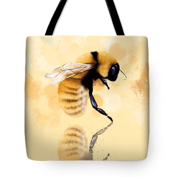 Bee Tote Bag by Veronica Minozzi