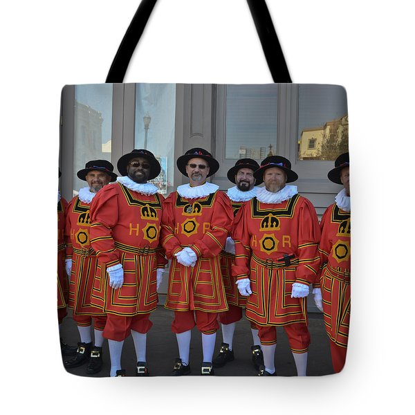 Beefeaters Tote Bag