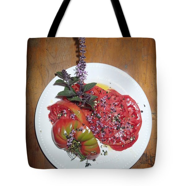 Tote Bag featuring the photograph Beefsteak by Robert Nickologianis