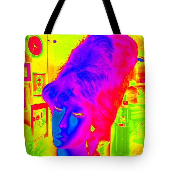 Beehive Beauty Tote Bag by Ed Weidman