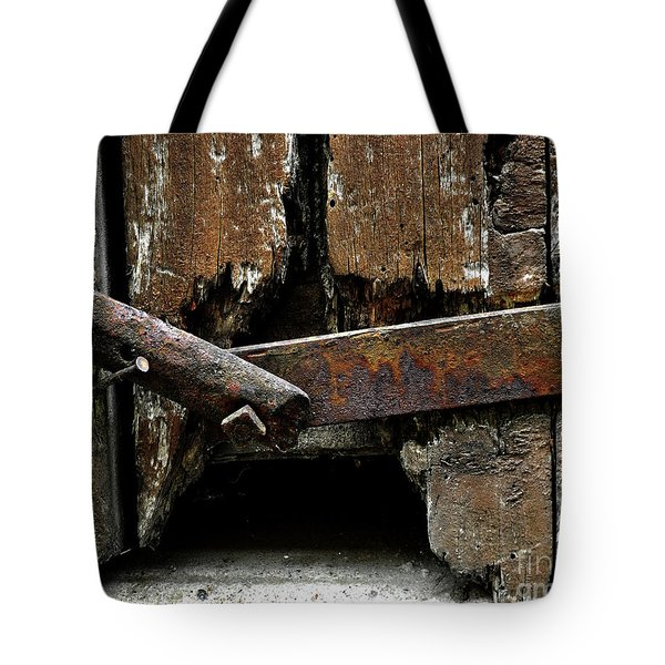 Tote Bag featuring the photograph Been There by Newel Hunter