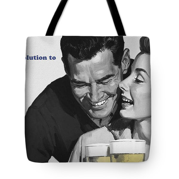 Beer Tote Bag by Bill Cannon