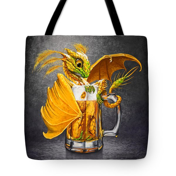 Beer Dragon Tote Bag