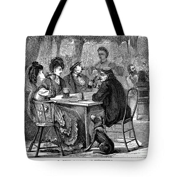 Beer Garden Tote Bag by Granger