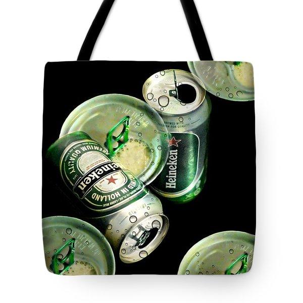 Beer Here Tote Bag by Diana Angstadt