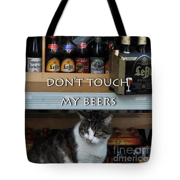 Tote Bag featuring the photograph Beers Warden by Simona Ghidini