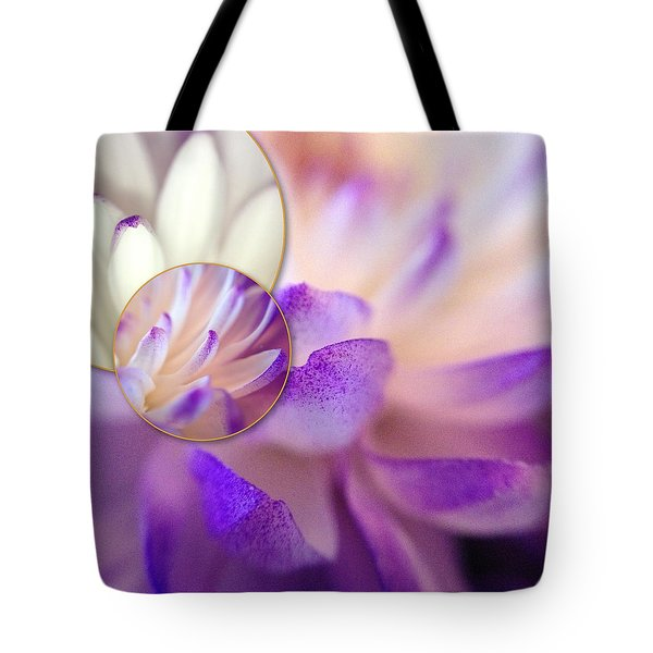 Tote Bag featuring the photograph Bee's Eye View by Susan Maxwell Schmidt