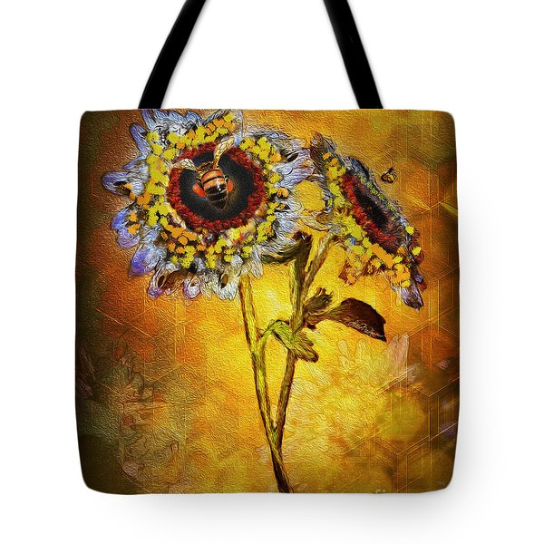 Bees To Honey Tote Bag
