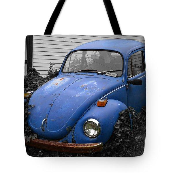 Beetle Garden Tote Bag