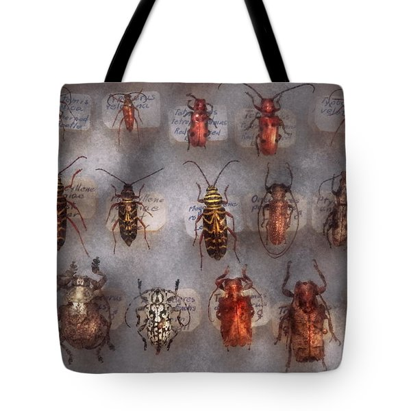 Beetles - The Usual Suspects  Tote Bag by Mike Savad