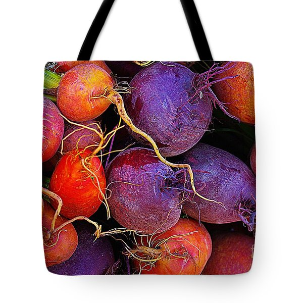 Tote Bag featuring the photograph Beets Me  by John S