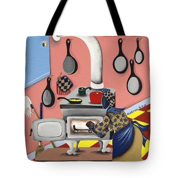 Before Convenience Tote Bag by Patricia Sabree