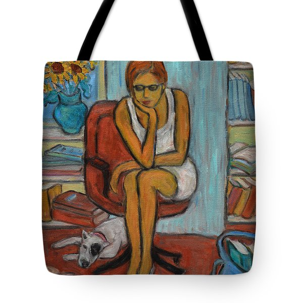 Before Exams Tote Bag by Xueling Zou