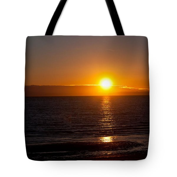 Tote Bag featuring the photograph Before Night Falls  by Sabine Edrissi