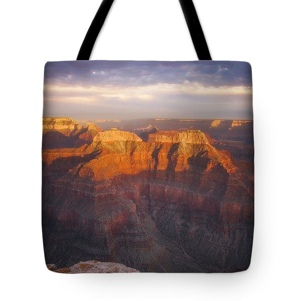 Before Sublime Colors Tote Bag by Peter Coskun