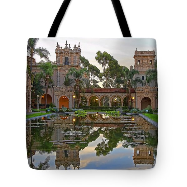 Tote Bag featuring the photograph Before The Crowds by Gary Holmes