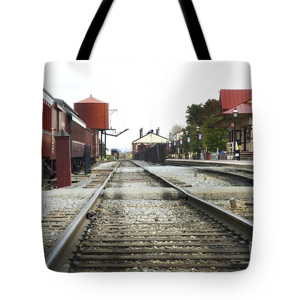 Before The First Passengers Tote Bag