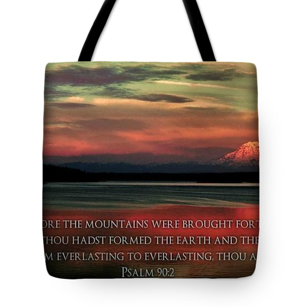 Before The Mountains Tote Bag
