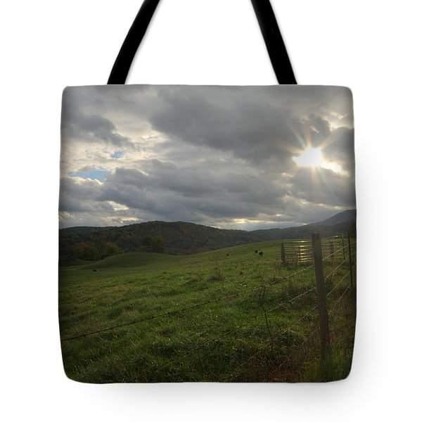 Before The Storm Tote Bag by Cathy Shiflett