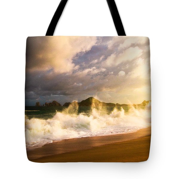 Tote Bag featuring the photograph Before The Storm by Eti Reid